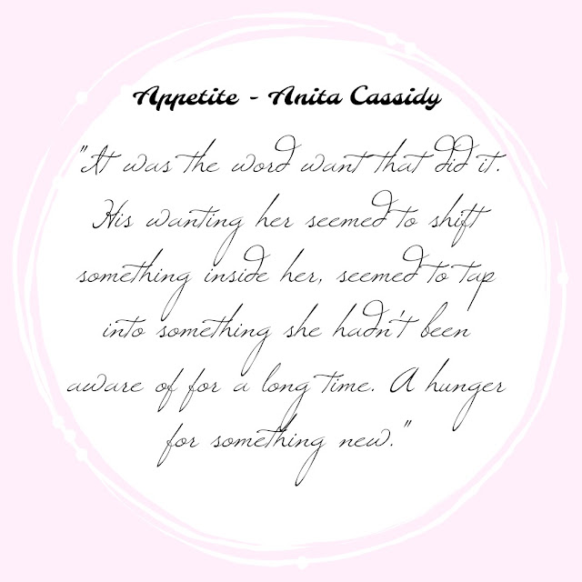 Appetite by Anita Cassidy on Tomes and Tequila