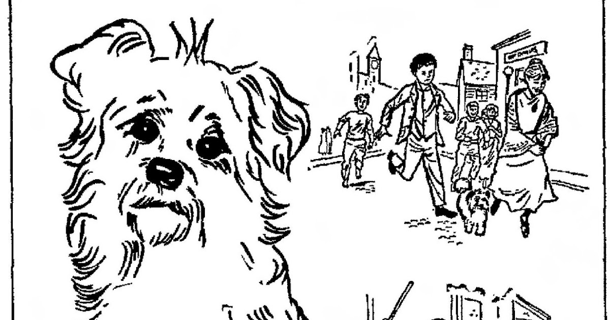 bobbyjack coloring pages | Mostly Paper Dolls: Greyfriars BOBBY Coloring Contest