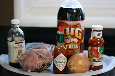 rootbeer pulled pork crockpot slow cooker ingredients