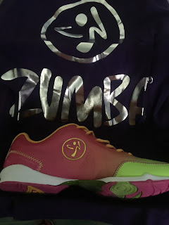 ZUMBA WEAR Shoes with circles design to you glide while dancing