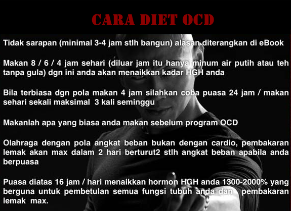 Cara Diet OCD Deddy Corbuzier | Download eBook OCD