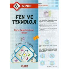 Metot 8.Sınıf Fen ve Teknoloji Konu Değerlendirme Testleri