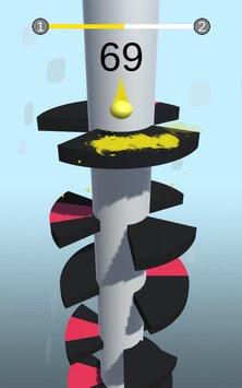 لعبة Helix Jump مهكرة للأندرويد، لعبة Helix Jump كاملة للأندرويد