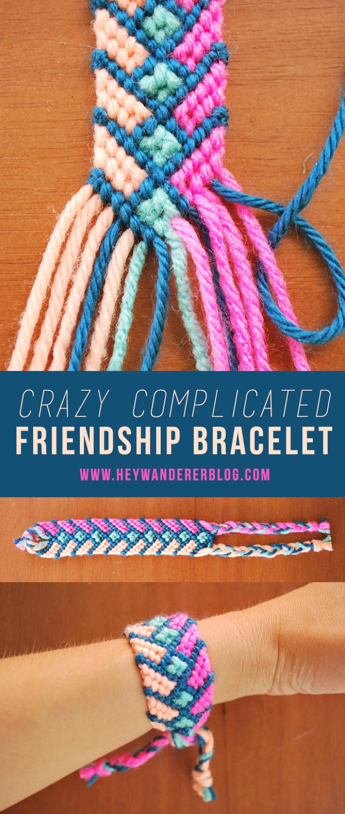 beautiful bracelet bracelets embroidery three jewellery string make floss to friendship ksvhs how with