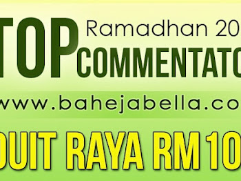 Pemenang Duit Raya Untuk Top 3 Komentator Ramadhan 2017