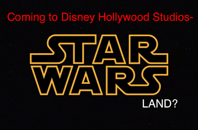Disney Hollywood Studios- Yup, Star Wars is Coming..
