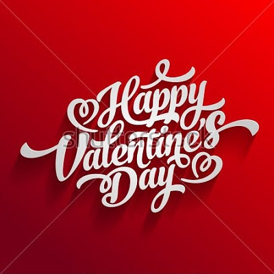 stock vector happy valentines day hand drawing vector lettering design 363907253 - Happy Valentines Day 2018 Messages SMS Quotes
