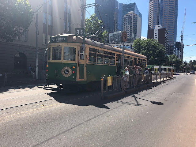 The old tram of Melbourne