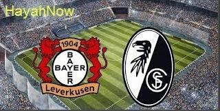 موعد و توقيت مباراة باير ليفركوزن وفرايبورج ضمن الدوري الالماني اليوم بتاريخ 29-5-2020 مباراة باير ليفركوزن ضد فرايبورج