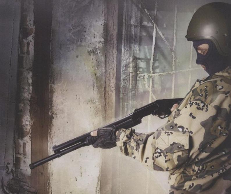 World Defense Review: RMB-93 12 gauge magazine shotgun