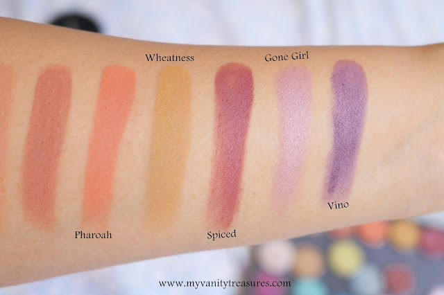 Looxi Beauty Matte Eyeshadows