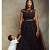 Stunning new photos of Lilian Esoro and her son