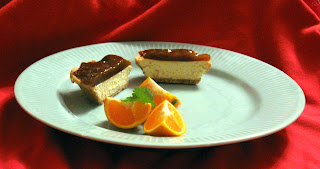 seabuckthorn amarretto cheesecake