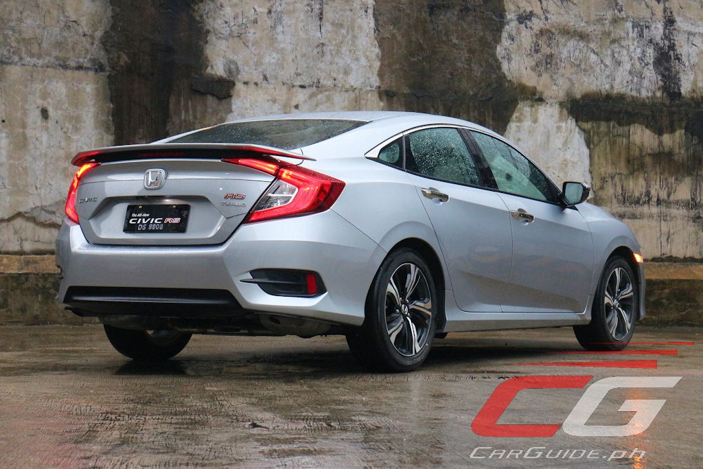 review 2016 honda civic rs turbo philippine car news car reviews automotive features and. Black Bedroom Furniture Sets. Home Design Ideas