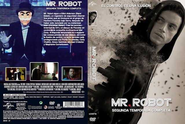Capa DVD Mr Robot Segunda Temporada Completa