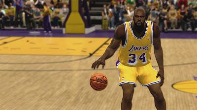NBA 2K13 Shaquille O'Neal Cyberface with Beard