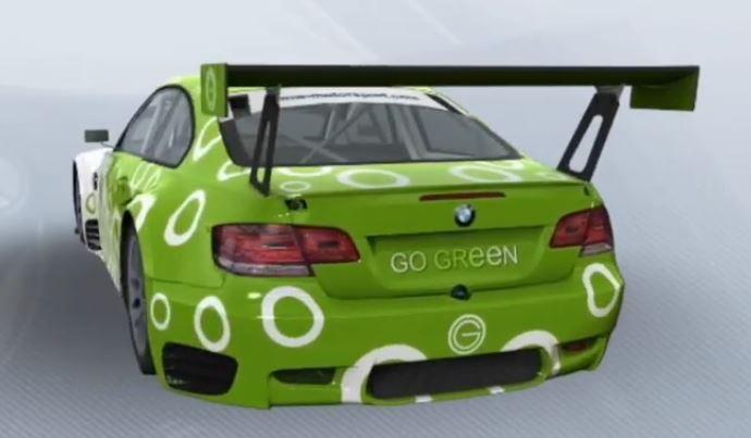 BMW M3 GT2 Team Go Green