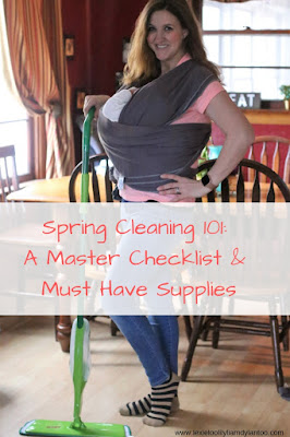 Spring Cleaning 101: A Master Checklist & Must Have Supplies #springcleaning #cleaning #cleaningchecklist #springcleaningchecklist
