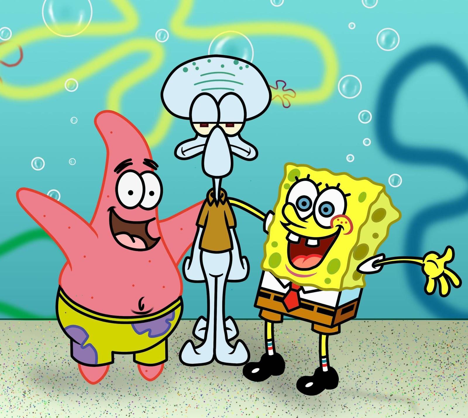 Gambar Kata Kata Lucu Kartun Spongebob  Kata Kata Mutiara