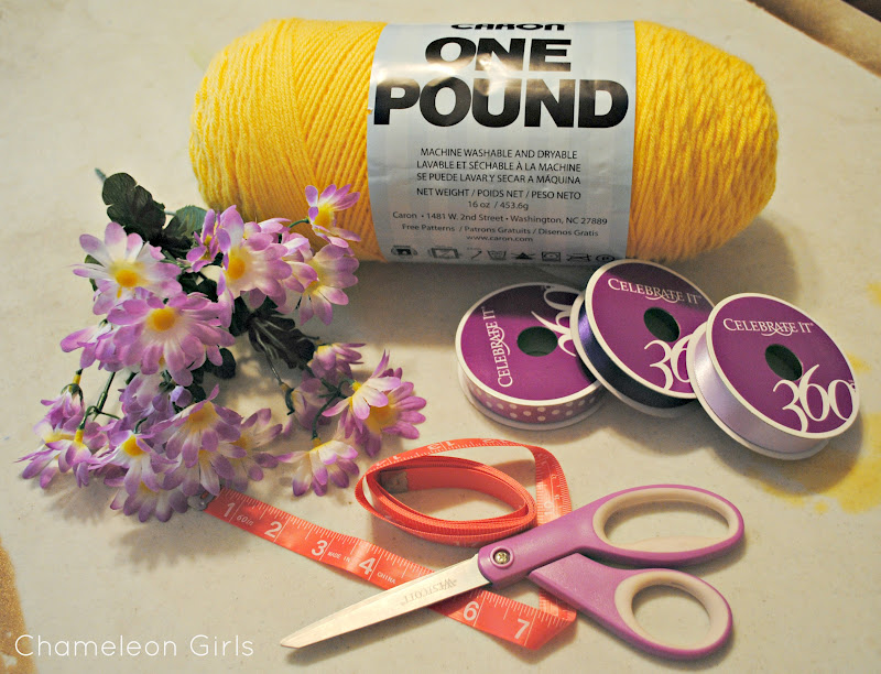 Chameleon Girls How To Make A Rapunzel Wig From Yarn
