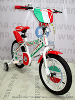 16 Inch United Italy Gli Azzuri Kids Bike