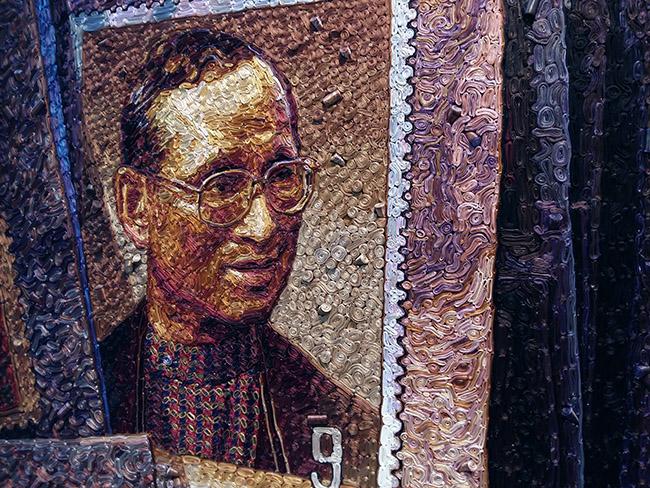 Nuntapong Sinsawus นันทพงศ์ สินสวัสดิ์ - Thai King Rama IX art