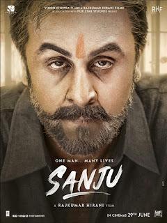 Sanju First Look Poster 1