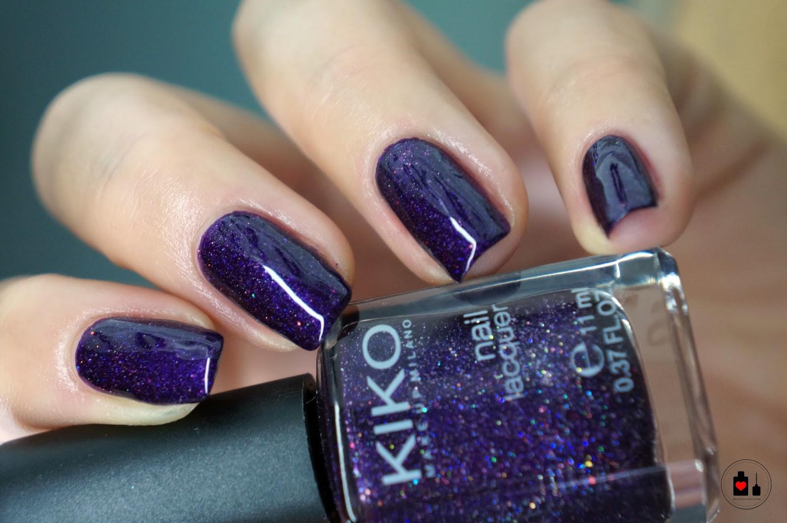 Kiko, 255 Violet Microglitter