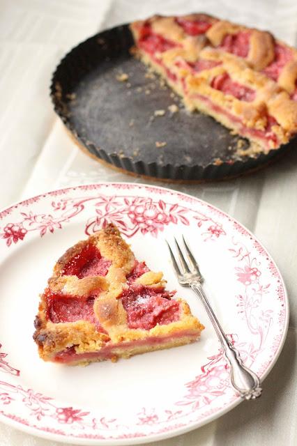 tarte aux fraises rapide