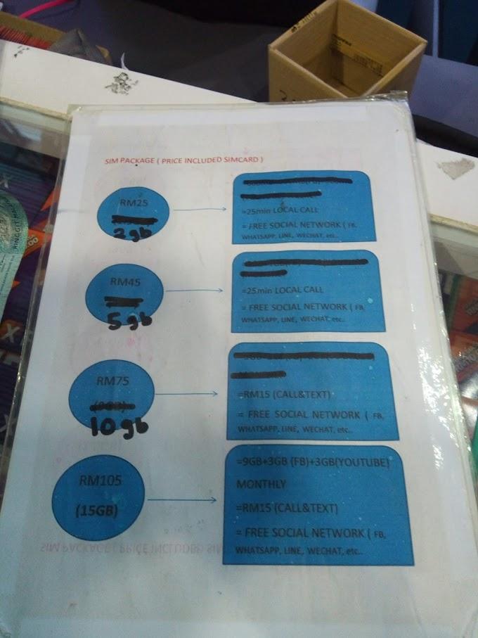 Mua sim điện thoại nào dùng ở Malaysia! Có rẻ không? Có dễ không?