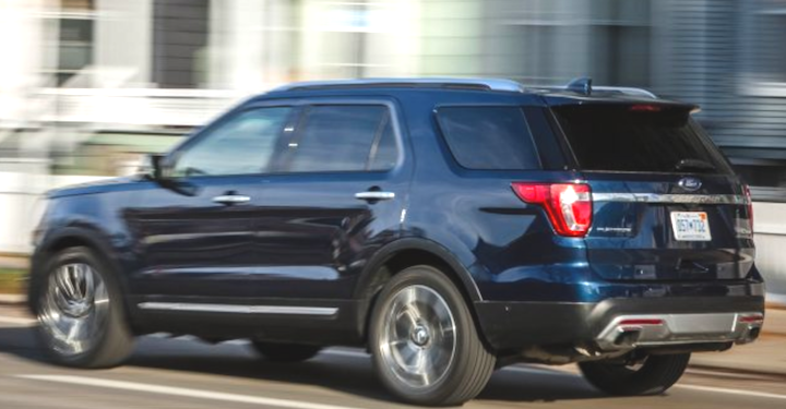 2019 Ford Explorer XLT Rumors