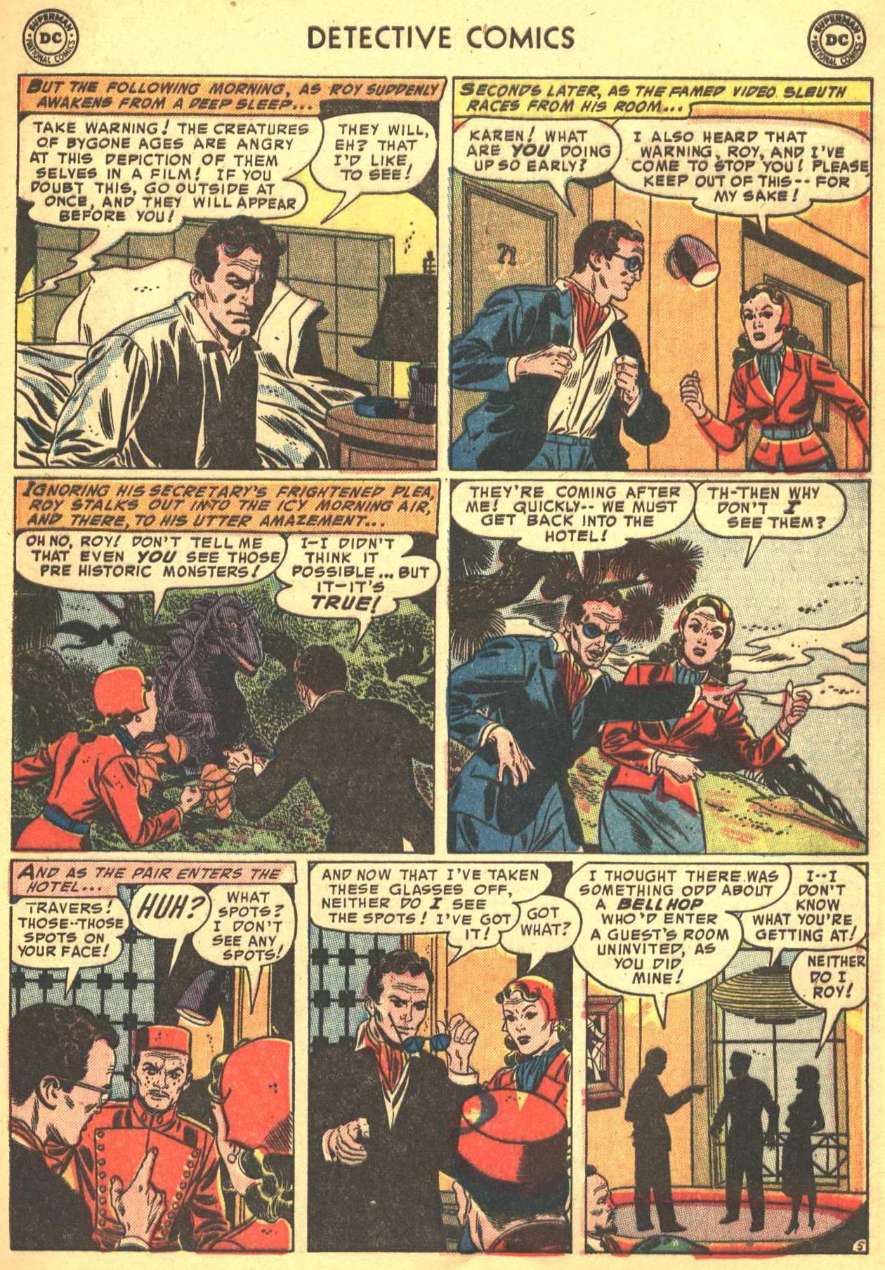 Read online Detective Comics (1937) comic -  Issue #206 - 36