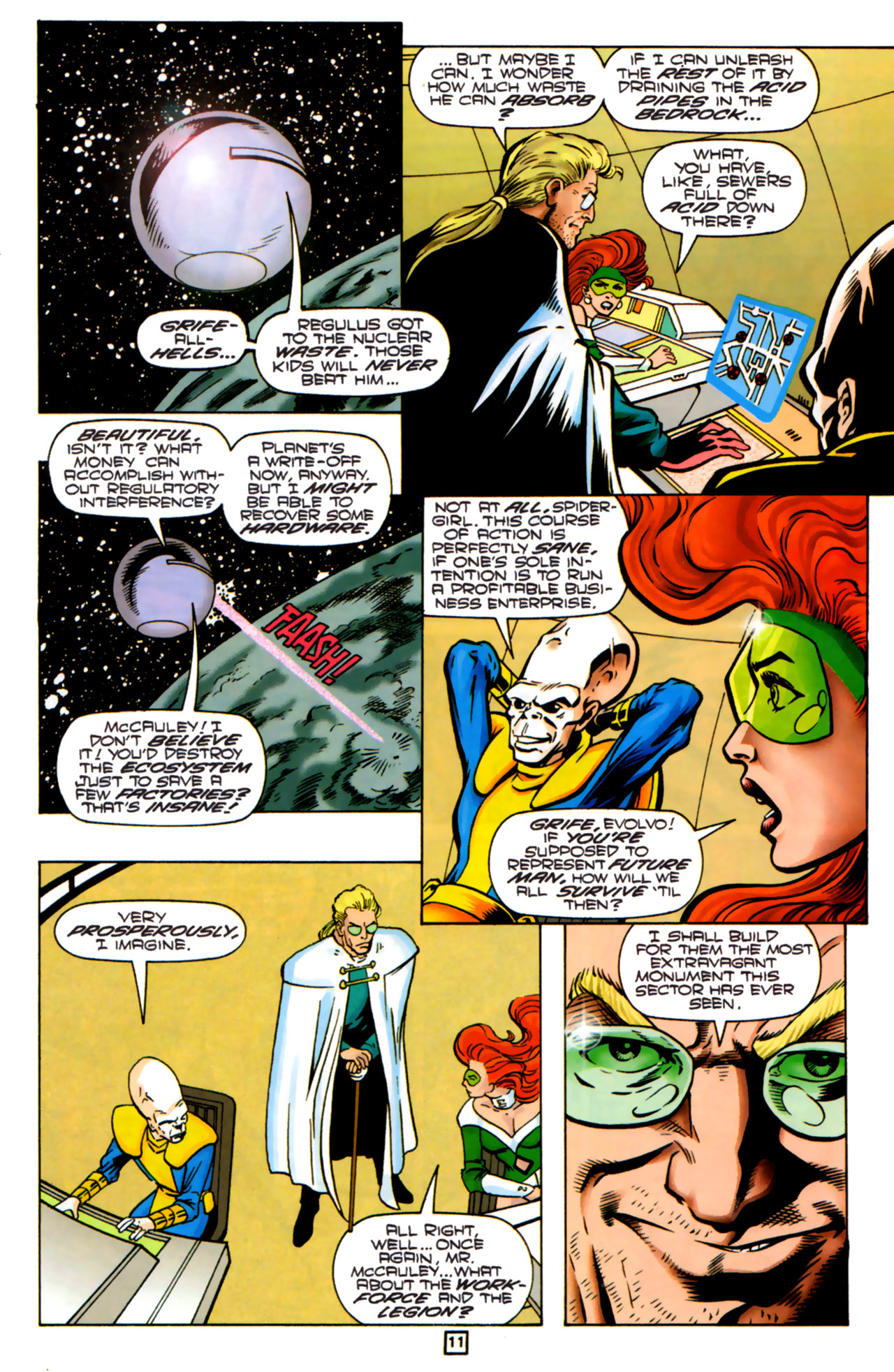 Legion of Super-Heroes (1989) 83 Page 10