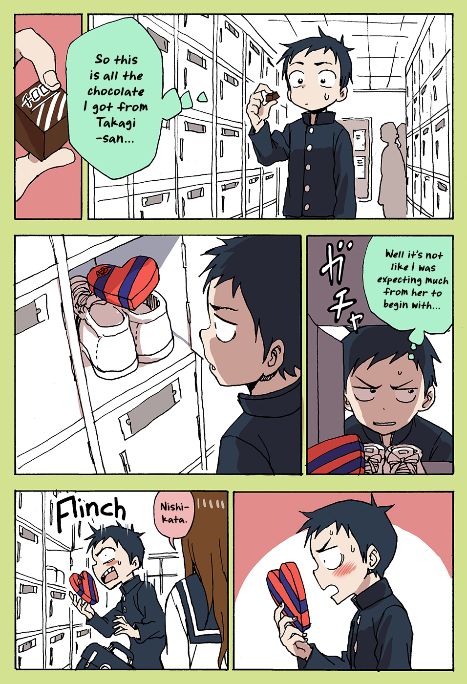 Karakai Jouzu no Takagi-san - Chapter 35