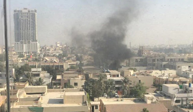 Chinese Consulate in Karachi Attacked