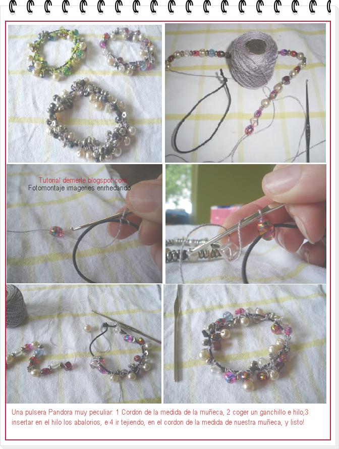 30e466798792 Como hacer una Pulsera Pandora casera - enrHedando