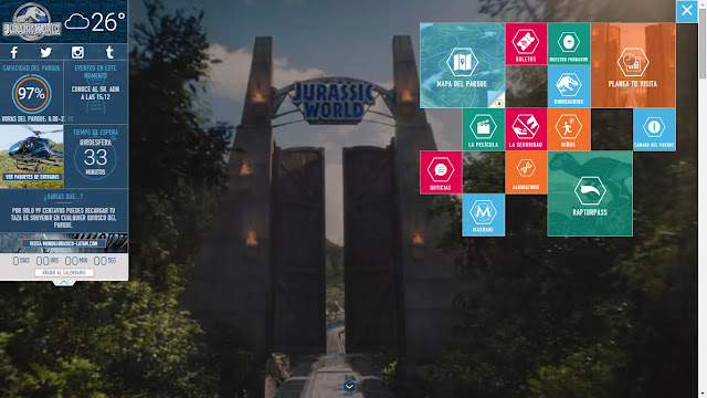 Jurassic World official website Jurassic Park 4