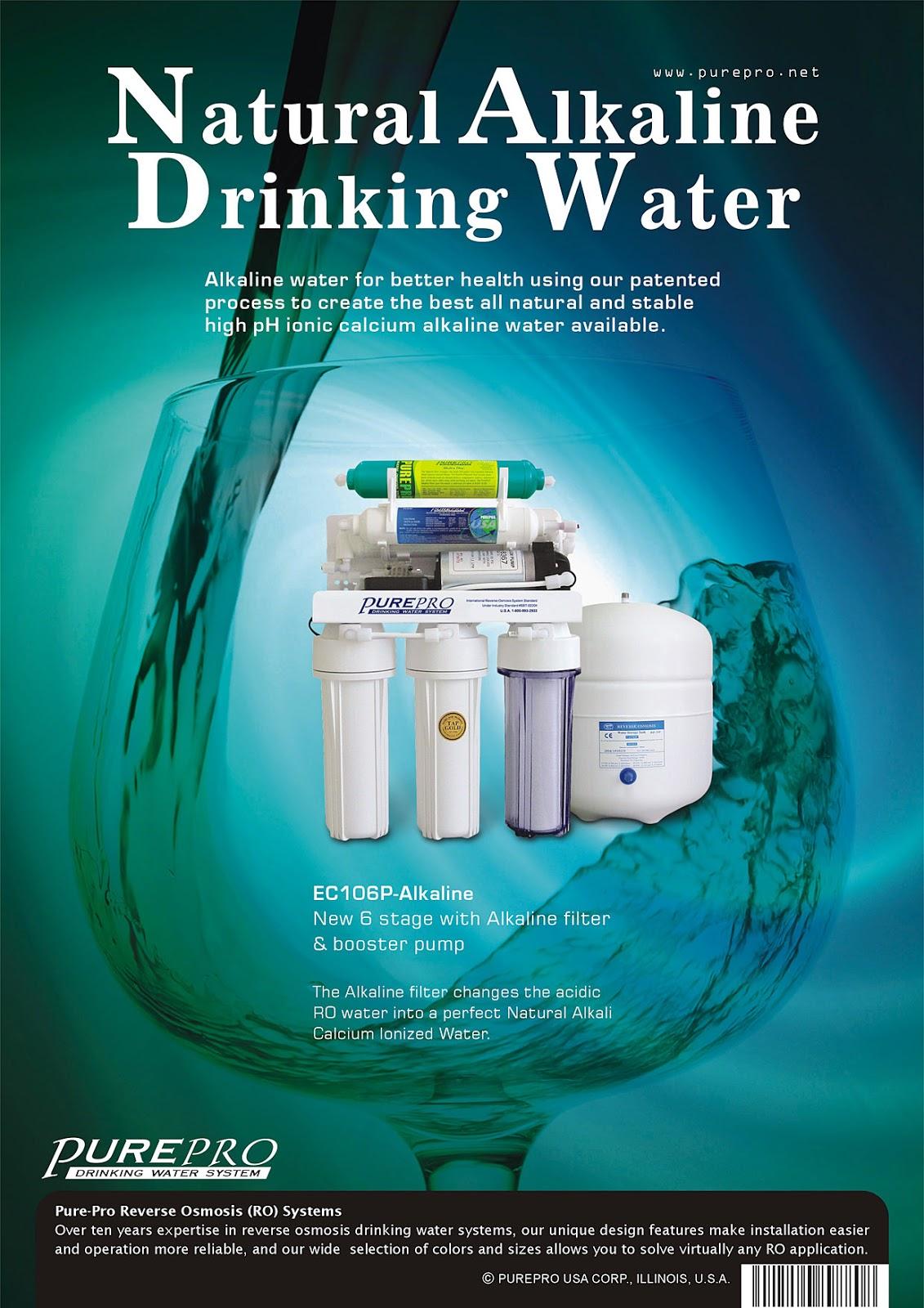 PurePro® EC106P Alkaline Reverse Osmosis Filter System
