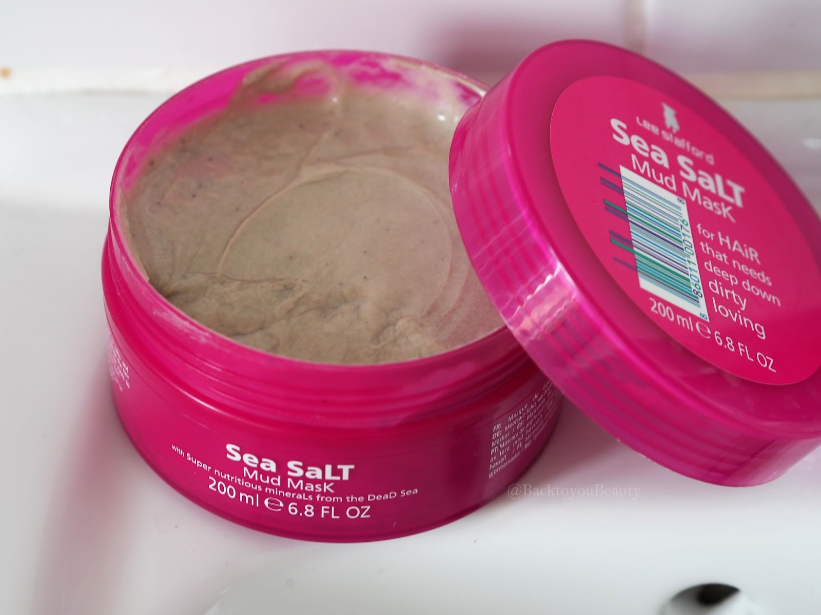 Lee Stafford Sea Salt Mud Mask