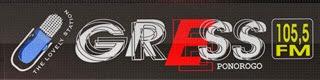Radio GRESS FM 105.5 MHz Ponorogo