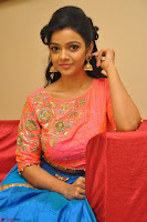 Nithya Shetty in Orange Choli at Kalamandir Foundation 7th anniversary Celebrations ~  Actress Galleries 110.JPG