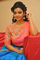 Nithya Shetty in Orange Choli at Kalamandir Foundation 7th anniversary Celebrations ~  Actress Galleries 110.JPG
