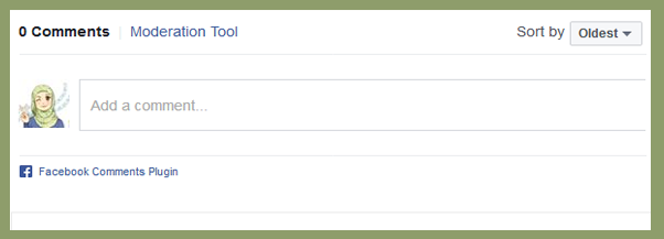 Cara Pasang Kolom Komentar Facebook Responsive Di blog