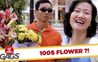 Funny Video – The $100 Flower Bouquet PRANK