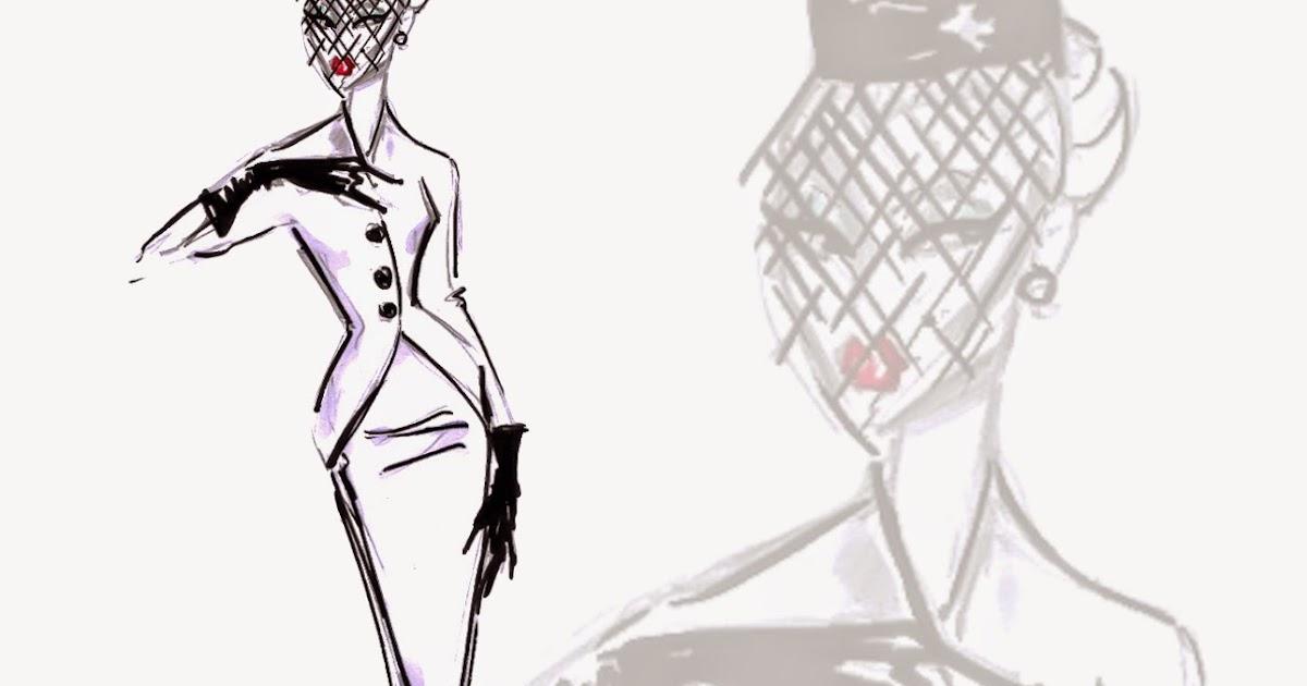 Hayden Williams Fashion Illustrations: 'Pillbox Perfect