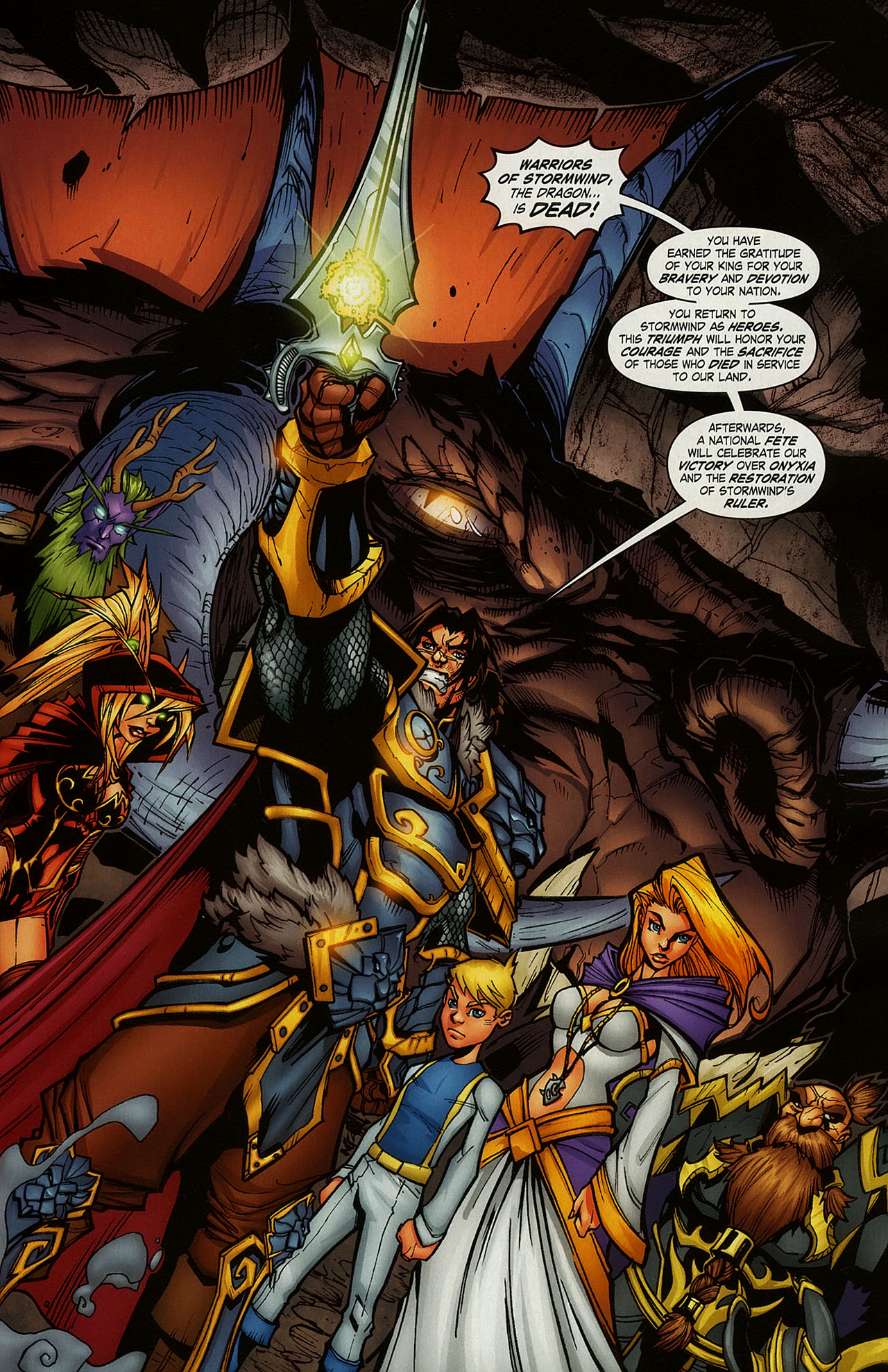 Read online World of Warcraft comic -  Issue #15 - 2