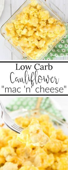 Cheesy Cauliflower Casserole | Low-Carb, Keto