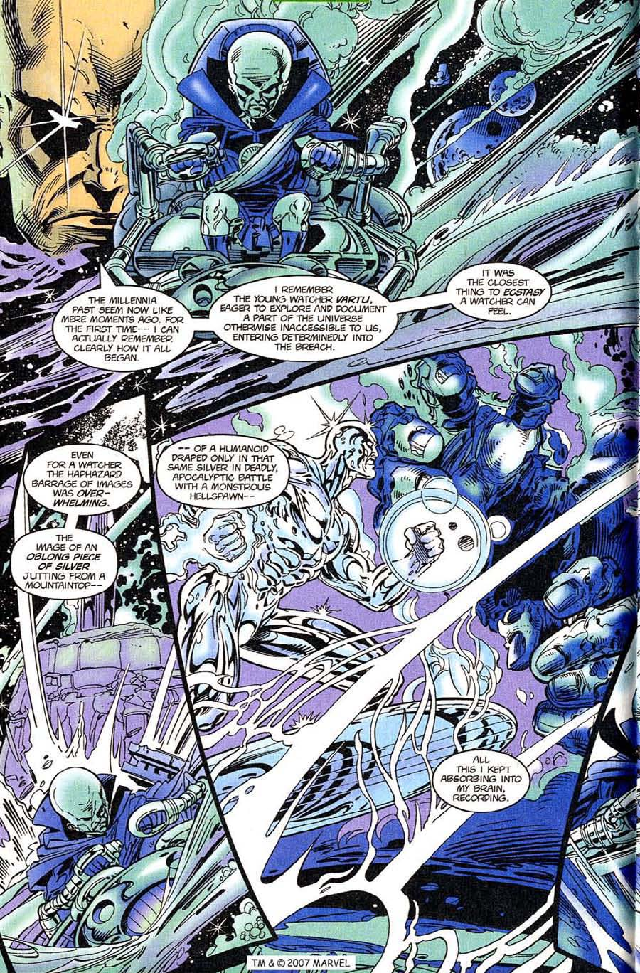 Read online Silver Surfer (1987) comic -  Issue #119 - 12