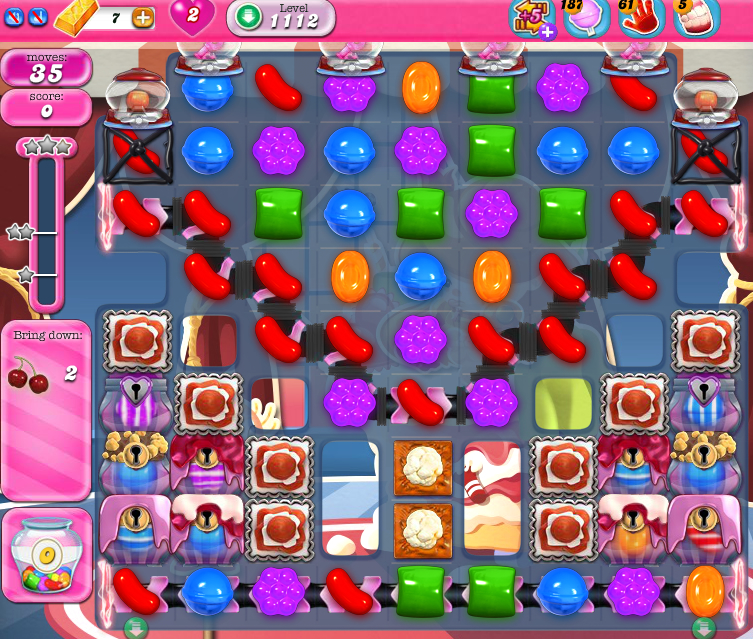 Candy Crush Saga 1112