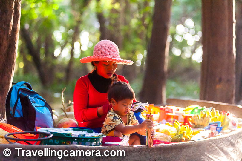 8. Cambodia has lot of poverty and like other south asian countries, you would see kids selling stuff or begging. It's advisable to not buy from them or give money, because that wold only encourage kids to do the same in future instead of finding sustainable ways learn and earn.